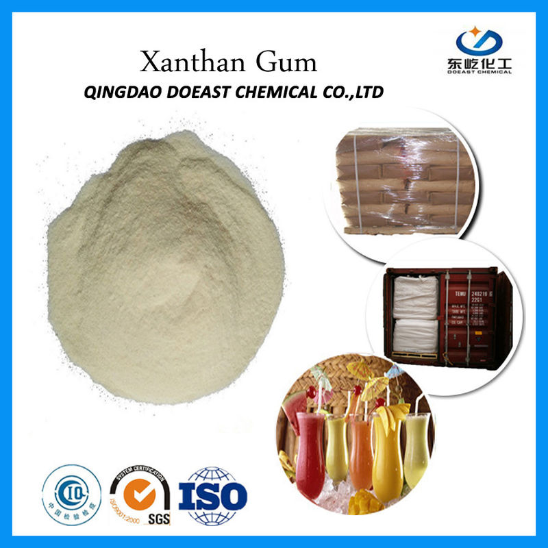 ISO Certificated Xanthan Gum Polymer 200 Mesh Starch For Ice Cream